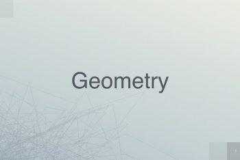 Geometry Keynote Template for Free