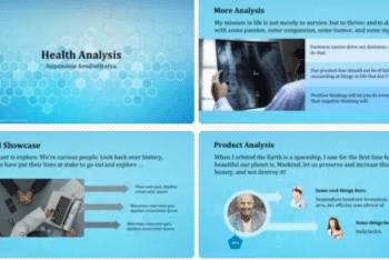 Health Analysis – Keynote template Download