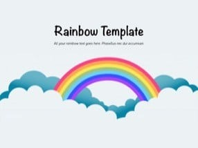 Rainbow – A Wonderful Creative Keynote Template for Free