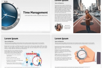 Time Management Keynote Template for Free