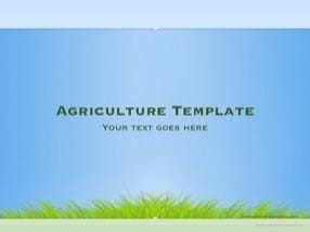 Agriculture Keynote Template for Free