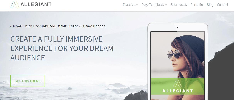 Allegiant - Multipurpose WordPress Theme