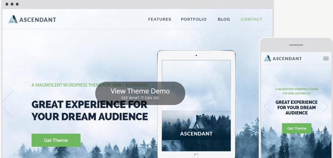 Ascendant - multipurpose WordPress theme