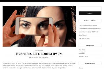 Download Eyepress Lite – Personal Blog Theme