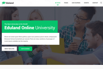Eduland – Free Education & Courses HTML5 Template Download