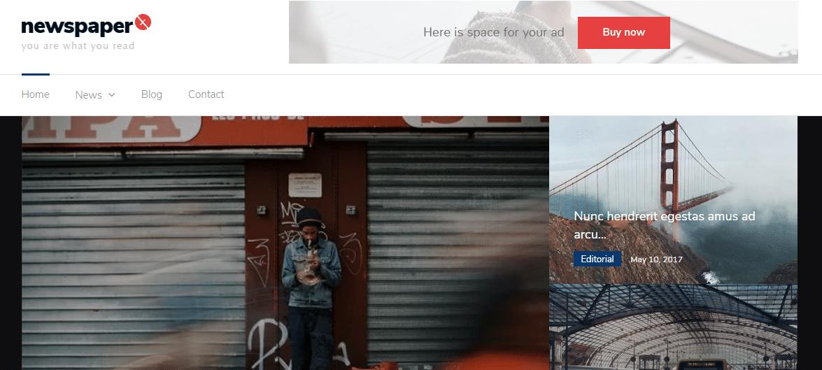 Newspaper X – Popular Magazine WordPress Theme