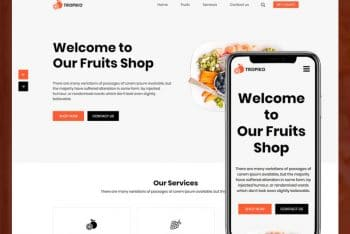 Tropiko – Fruit Store HTML Template Download