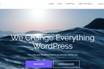 Download Shapely – One Page WordPress Theme