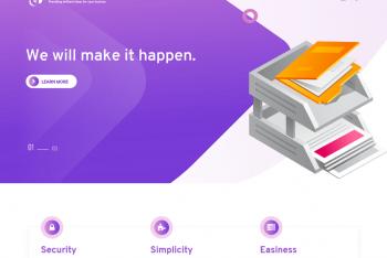 Buzz Agency – A Free WordPress Theme