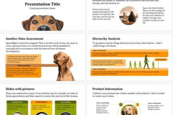 Dog Keynote Template for Free