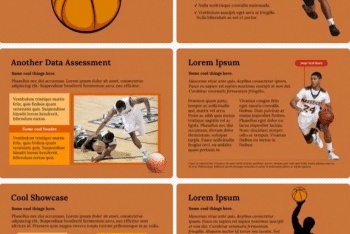 Basketball Keynote Template for Free
