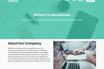 Apex Business – A Free Multipurpose Business & Blog WordPress Theme