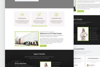CITY – Free Real Estate Responsive Website Template