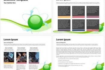 Free Scientific Keynote Template for Impressive Science Demonstration
