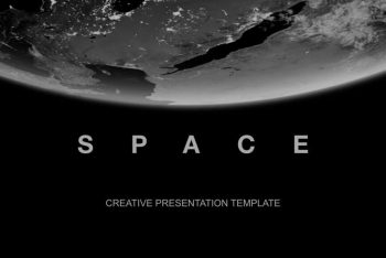 Space Universe Free Keynote Presentation Template
