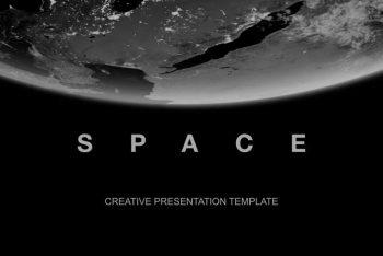 Space Universe Free Keynote Presentation Template