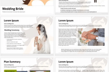 Bride – Free Keynote Template Download