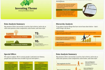 Investing Presentation Keynote Template for Free