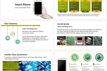 Smartphone Keynote Template for Free
