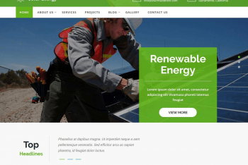 Solar Lite – A Free WordPress Theme