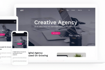 Airi – Business/Agency WordPress Theme Download