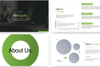 AnApple Free Keynote Presentation Template