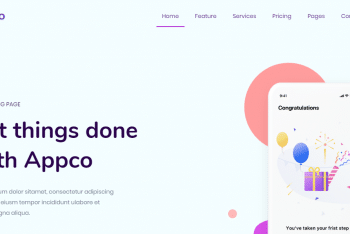 Download Appco – App Showcasing Website HTML Template