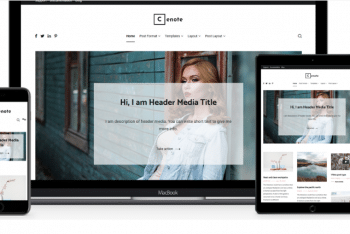 Cenote –  Blogging/News/Magazine WordPress Theme Download