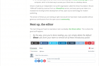 Crisp – A Minimal Two-Column Ghost Theme for Your Next Project
