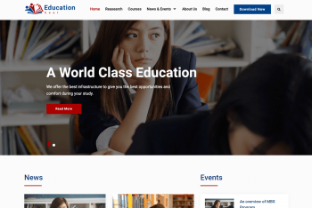Education Soul – a WordPress Theme for Education Websites