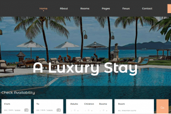 Download Europa – Accommodation Website HTML Template