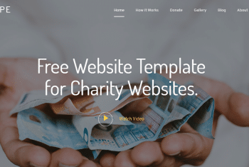 Download GiveHope – Charity Website HTML Template