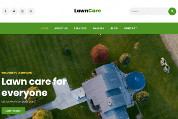 Download Lawncare – Simple Lawncare Website HTML Template