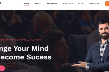 Download Manup – Event Website HTML Template for Your Next Project