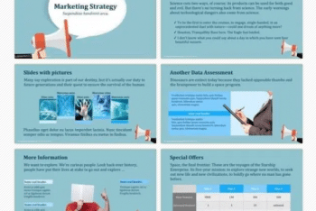 Download Marketing Strategy Keynote Template