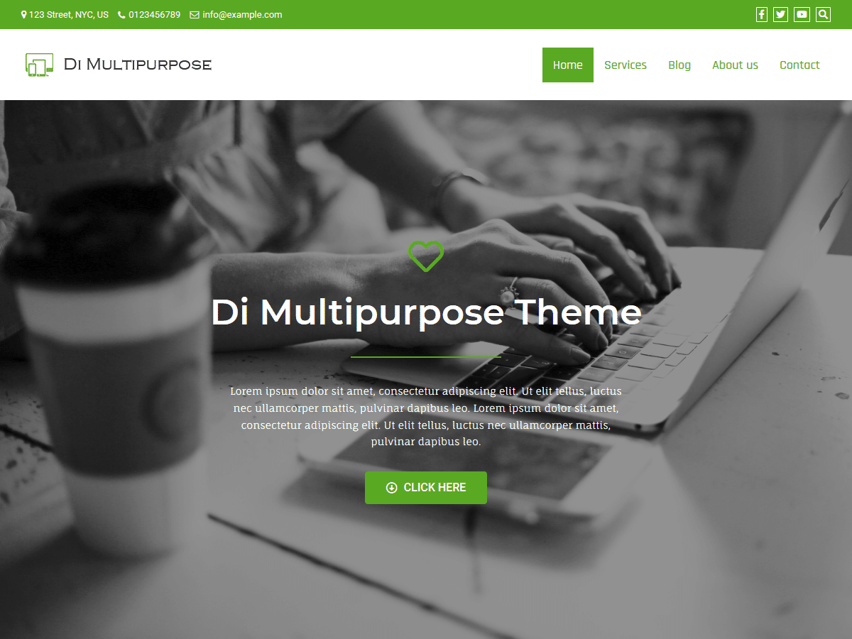 Di Multipurpose WordPress Theme