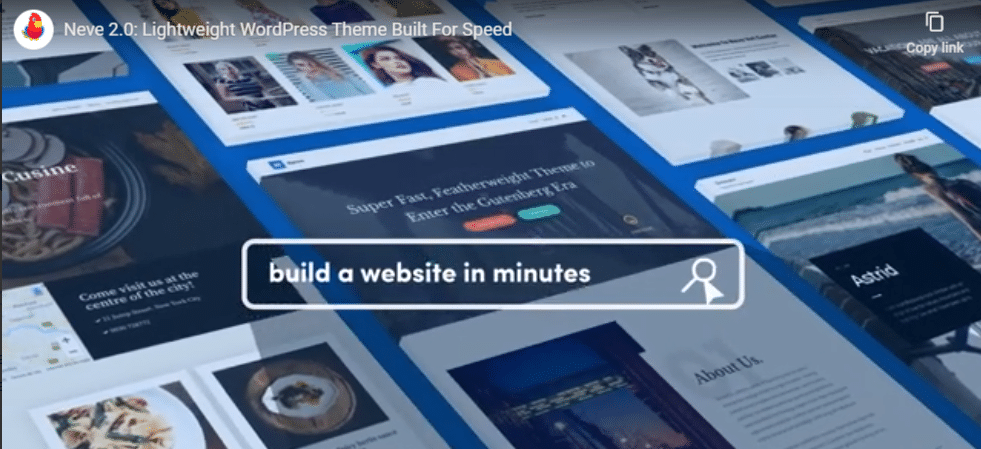Neve - multi-purpose WordPress theme
