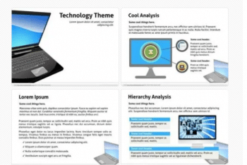 Notebook PC Keynote Template Download
