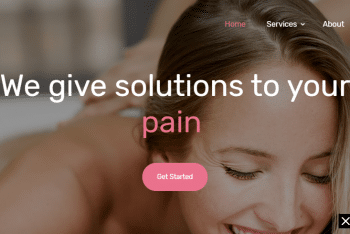 Download Physical Therapy – Health/Fitness Website HTML Template