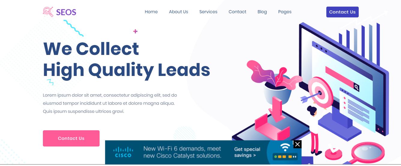 Seos - SEO website HTML template