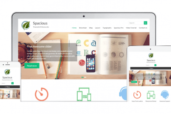 Spacious – Business WordPress Theme Download