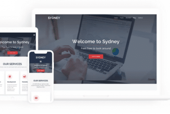 Sydney – Business/Agency WordPress Theme Download