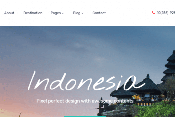 Download Travelo – Travel Website HTML Template