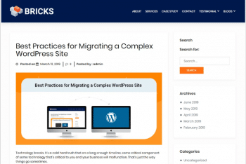 WPBricks – A Multipurpose WordPress Theme Download