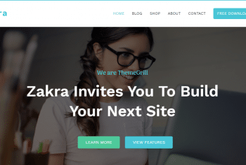 Zakra – Multipurpose WordPress Theme