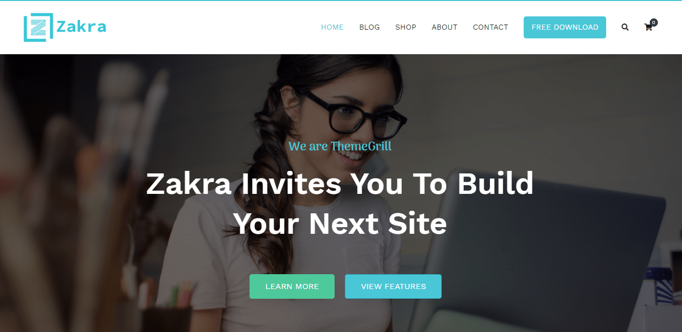 Zakra - Multipurpose WordPress Theme