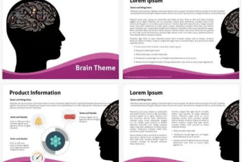 Brain Keynote Template for Free