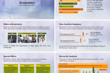 Economics – A Free Keynote Presentation Theme