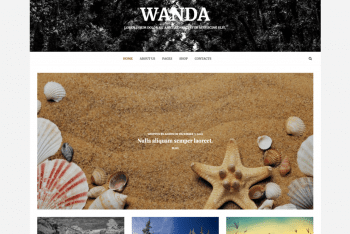 Wanda Lite – A Free WordPress Theme