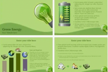 Green Energy Keynote Template for Flawless Ecology Presentations